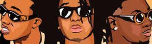 Cover Playlist turn up Rap US