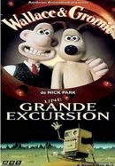 Affiche Wallace et Gromit : Une grande excursion