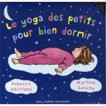 Couverture Le petit yoga des petits pour bien dormir