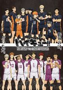 Affiche Haikyu!! Karasuno High School vs Shiratorizawa Academy