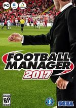 Jaquette Football Manager 2017