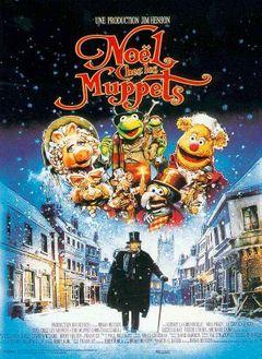 Affiche Noël chez les Muppets