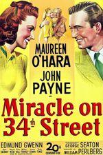 Affiche Le Miracle sur la 34e Rue