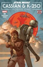 Couverture Star Wars : Rogue One - Cassian & K-2SO