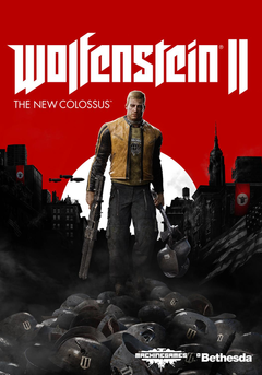 Jaquette Wolfenstein II : The New Colossus