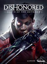 Jaquette Dishonored : La Mort de l'Outsider