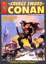 Couverture Les Clous rouges - The Savage Sword of Conan : La Collection, tome 1