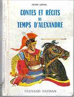 Couverture Contes et récits du temps d'Alexandre