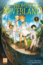 Couverture The Promised Neverland, tome 1