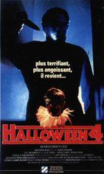Affiche Halloween 4