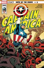 Couverture Captain America (2017 - 2018)