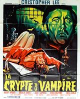 Affiche La crypte du vampire