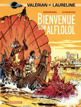Couverture Bienvenue sur Alflolol - Valérian, tome 4