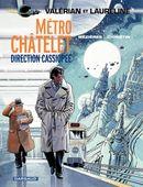 Couverture Métro Châtelet Direction Cassiopée - Valérian, tome 9