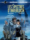 Couverture Les Spectres d'Inverloch - Valérian, tome 11