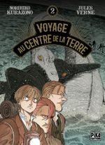 Couverture Voyage au centre de la Terre, tome 2