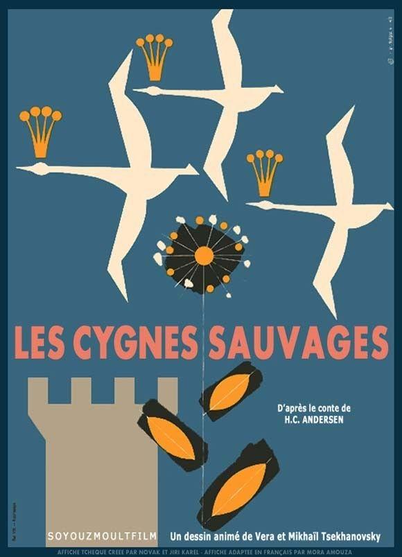 Les Cygnes Sauvage Long Mtrage Danimation 1962 Senscritique