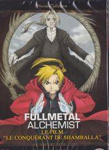 Affiche Fullmetal Alchemist, le film : Le Conquérant de Shamballa