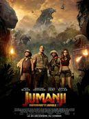 Affiche Jumanji : Bienvenue dans la jungle