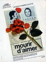 Affiche Mourir d'aimer