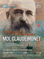 Affiche Moi, Claude Monet