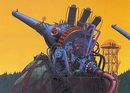 Affiche L'invention des machines imaginaires de destruction