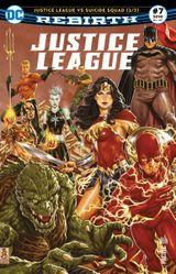 Couverture Justice League Rebirth (DC Presse), tome 7