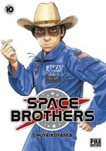 Couverture Space Brothers, tome 10