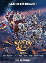 Affiche Santa & Cie
