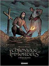 Couverture Le coup de grâce, deuxième partie - La Chronique des Immortels, tome 7
