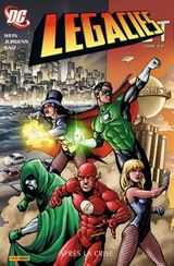 Couverture Après la crise - DC Legacies, tome 2