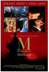 Affiche M. Butterfly