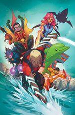 Couverture The Rise of Aqualad - Teen Titans (Rebirth), Vol. 2