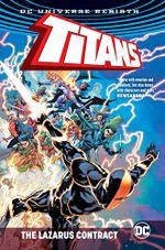 Couverture Titans: The Lazarus Contract