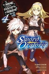 Couverture Is It Wrong to Try to Pick Up Girls in a Dungeon? On the Side: Sword Oratoria, Vol. 4