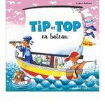 Couverture Tip et Top en bateau