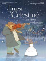 Affiche Ernest et Célestine en hiver