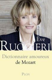 Couverture Dictionnaire amoureux de Mozart