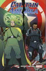 Couverture Captain America: Secret Empire