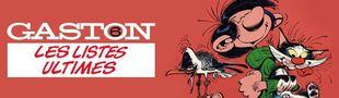 Cover Gaston Lagaffe, Les listes ultimes: 6/6: Les hors-séries