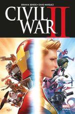 Couverture Civil war II (Marvel Deluxe)