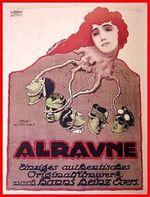 Affiche Alraune, die Henkerstochter, genannt die rote Hanne