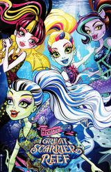 Affiche Monster High : La Grande Barrière des Frayeurs