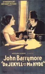 Affiche Docteur Jekyll et M. Hyde
