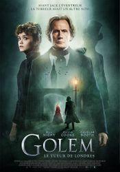 Affiche Golem, le tueur de Londres