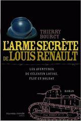 Couverture L'Arme secrète de Louis Renault