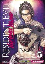 Couverture Resident Evil : Heavenly Island, tome 5
