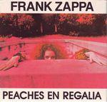 Pochette Peaches en Regalia (Single)