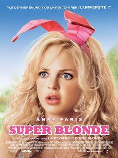 Affiche Super Blonde