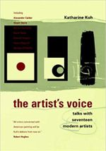 Couverture The Artist's Voice: Talks With Seventeen Modern Artists